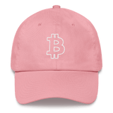 Bitcoin / BTC OW Classic Hat-Pink- Crypto & Proud