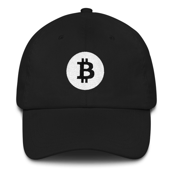 Bitcoin / BTC RB Classic Hat-Black- Crypto & Proud