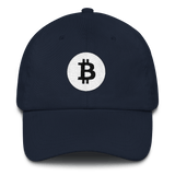 Bitcoin / BTC RB Classic Hat-Navy- Crypto & Proud