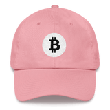 Bitcoin / BTC RB Classic Hat-Pink- Crypto & Proud