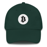 Bitcoin / BTC RB Classic Hat-Spruce- Crypto & Proud