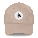 Bitcoin / BTC RB Classic Hat-Stone- Crypto & Proud