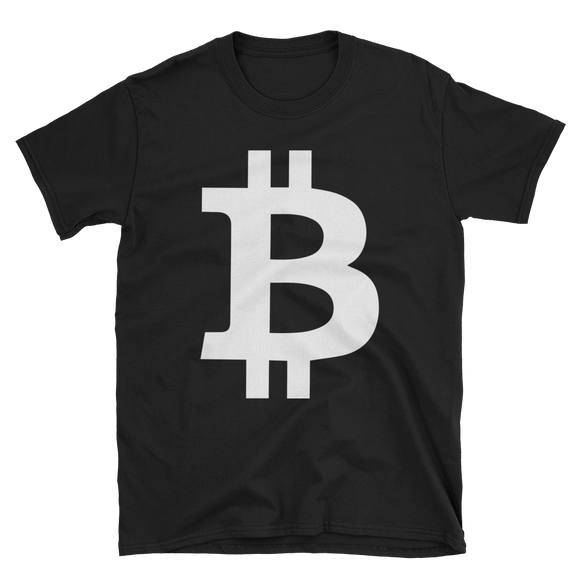 Bitcoin / BTC W Softstyle T-Shirt-Black- Crypto & Proud