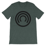 CLOAK B BL T-Shirt Premium-Heather Forest- Crypto & Proud