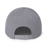 CLOAK B Snapback Wool Blend Hat- Crypto & Proud