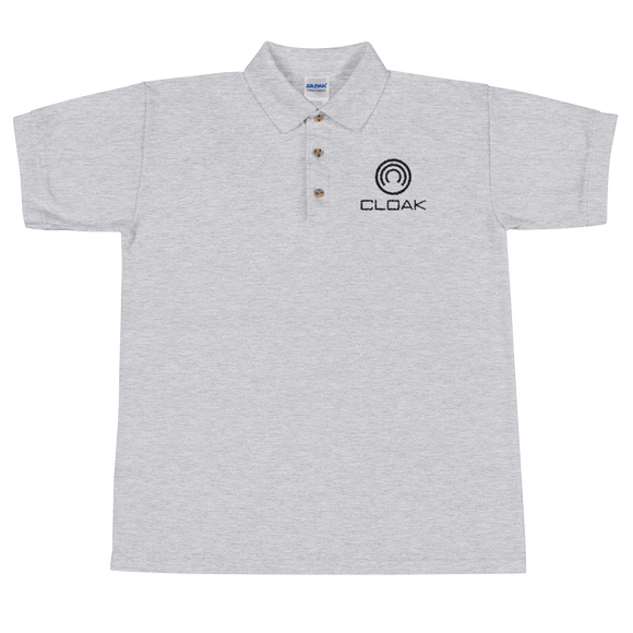 CLOAK BL Polo T-Shirts  - Crypto & Proud