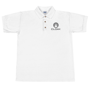CLOAK BL Polo-Sport Grey- Crypto & Proud