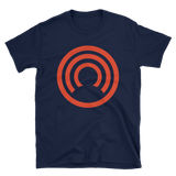 CLOAK C BL Softstyle T-Shirt-Navy- Crypto & Proud