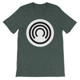 CLOAK RB BL T-Shirt Premium-Heather Forest- Crypto & Proud