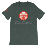 CLOAK RCWLE T-Shirt Premium-Heather Forest- Crypto & Proud