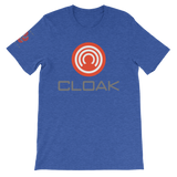CLOAK RCWLE T-Shirt Premium-Heather True Royal- Crypto & Proud