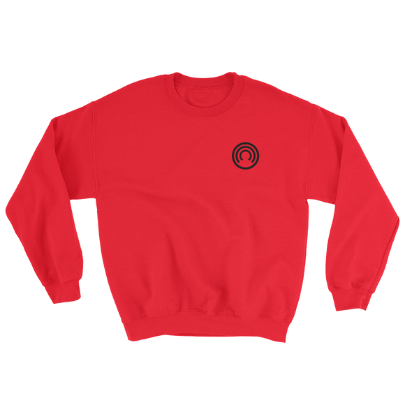 CLOAK SB BL Crewneck Shirt-Red- Crypto & Proud