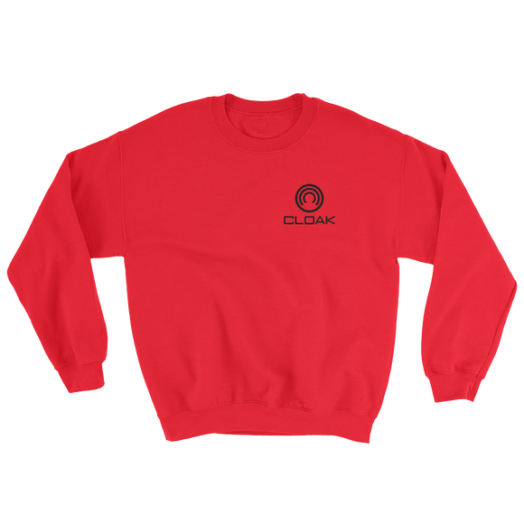 CLOAK SBL Crewneck Shirt-Red- Crypto & Proud