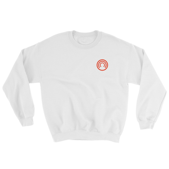 CLOAK SC BL Crewneck Shirt-White- Crypto & Proud