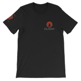 CLOAK SCLE T-Shirt Premium-Black- Crypto & Proud