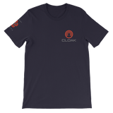 CLOAK SCLE T-Shirt Premium-Navy- Crypto & Proud