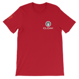 CLOAK SRBLE T-Shirt Premium-Red- Crypto & Proud