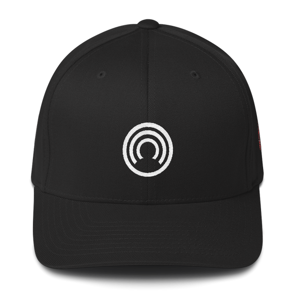 CLOAK W Fit Cap-Black- Crypto & Proud