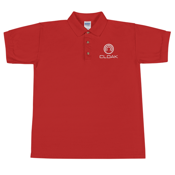 CLOAK WL Polo T-Shirts  - Crypto & Proud