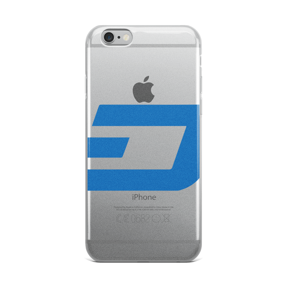 Dash / DASH C iPhone Case Phone cases  - Crypto & Proud
