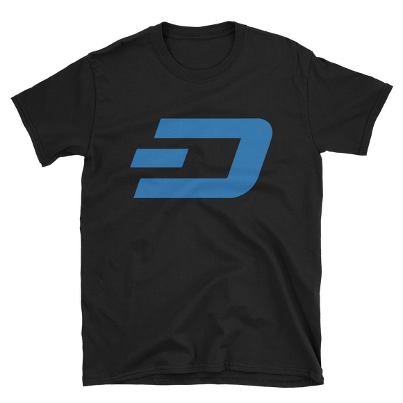 Dash / DASH C Softstyle T-Shirt-Black- Crypto & Proud