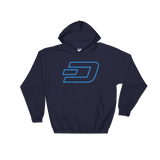 Dash / DASH OC Heavy Blend Hoodie-Navy- Crypto & Proud