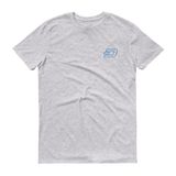 Dash / DASH OSC T-Shirt Premium-Heather Grey- Crypto & Proud
