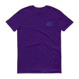 Dash / DASH OSC T-Shirt Premium-Purple- Crypto & Proud