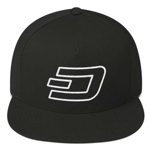 Dash / DASH OW Snapback Hat-Black- Crypto & Proud