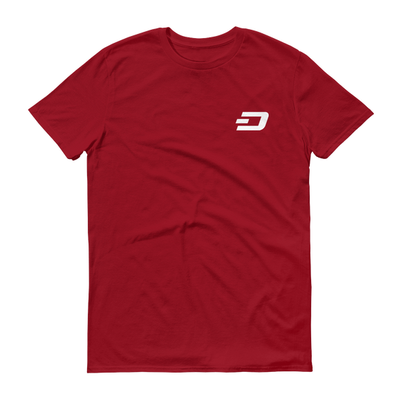 Dash / DASH SW T-Shirt Premium-Independence Red- Crypto & Proud