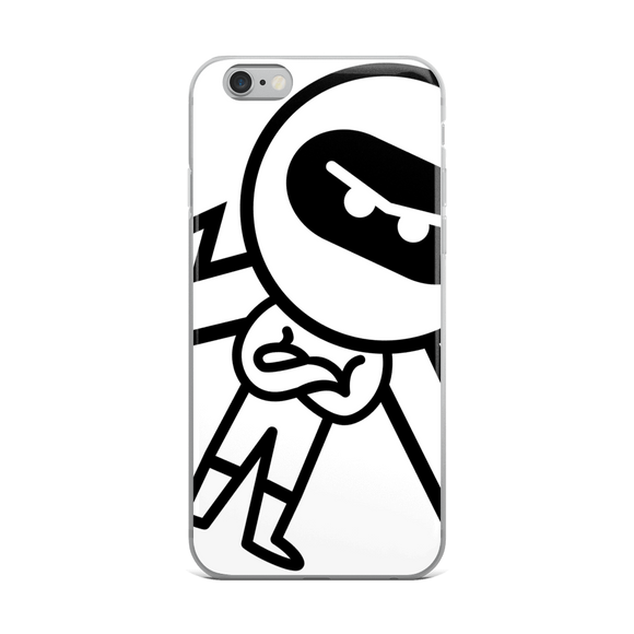 Deviant Coin / DEV BW iPhone Case Phone cases  - Crypto & Proud