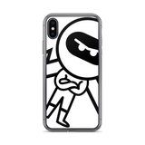 Deviant Coin / DEV BW iPhone Case-iPhone X/XS- Crypto & Proud