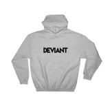 Deviant Coin / DEV BW LB Hoodie-Crypto & Proud