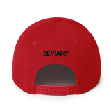 Deviant Coin / DEV BW LB Snapback Hat   - Crypto & Proud