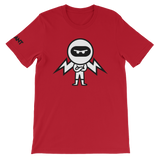 Deviant Coin / DEV BW LB T-Shirt Premium-Red- Crypto & Proud