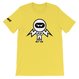 Deviant Coin / DEV BW LB T-Shirt Premium-Yellow- Crypto & Proud