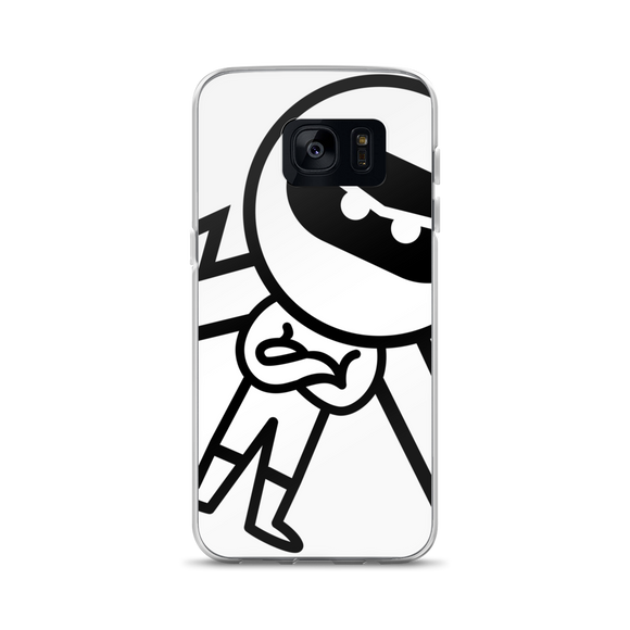Deviant Coin / DEV BW Samsung Case Phone cases  - Crypto & Proud