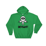 Deviant Coin / DEV BWL Hoodie-Irish Green- Crypto & Proud