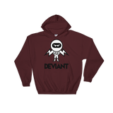 Deviant Coin / DEV BWL Hoodie   - Crypto & Proud