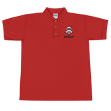 Deviant Coin / DEV BWL Polo-Red- Crypto & Proud