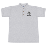 Deviant Coin / DEV BWL Polo-Sport Grey- Crypto & Proud