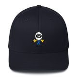 Deviant Coin / DEV C LW Fit Cap-Dark Navy- Crypto & Proud
