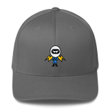 Deviant Coin / DEV C LW Fit Cap-Grey- Crypto & Proud