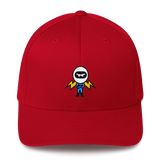 Deviant Coin / DEV C LW Fit Cap-Red- Crypto & Proud