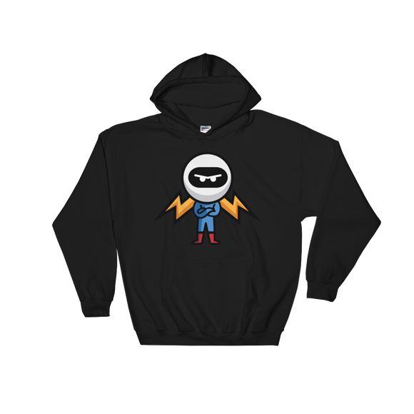 Deviant Coin / DEV C LW Hoodie-Black- Crypto & Proud