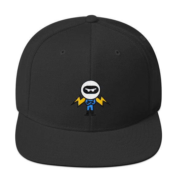 Deviant Coin / DEV C LW Snapback Hat   - Crypto & Proud