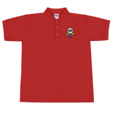 Deviant Coin / DEV C Polo-Red- Crypto & Proud