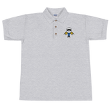 Deviant Coin / DEV C Polo-Sport Grey- Crypto & Proud