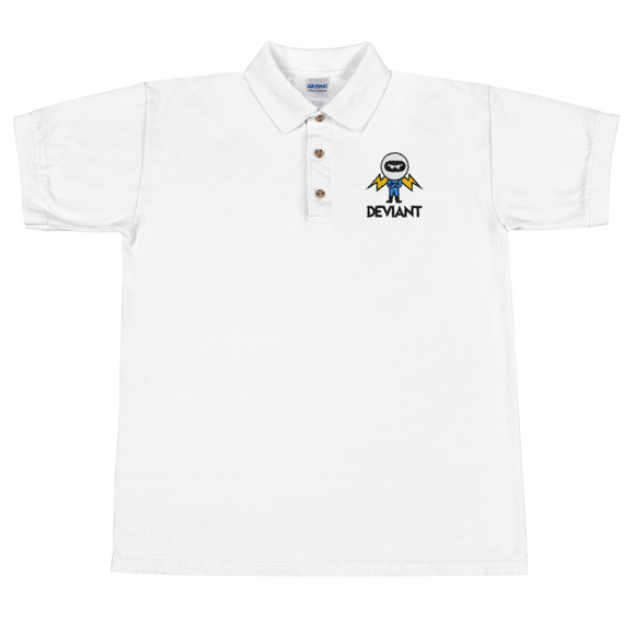 Deviant Coin / DEV CBL Polo T-Shirts  - Crypto & Proud
