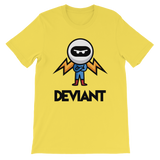 Deviant Coin / DEV CBL T-Shirt Premium-Yellow- Crypto & Proud